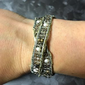 Silpada layers of luxury wrap bracelet